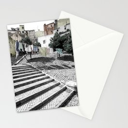 LAUNDRY IN LISBON (PORTUGAL) Stationery Cards