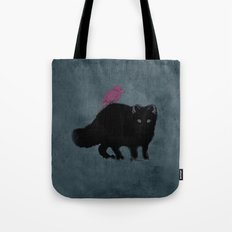 Cat and bird friends! Tote Bag