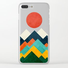 The hills are alive Clear iPhone Case