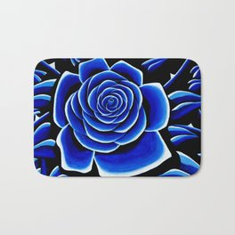 Blue 1 Bath Mat
