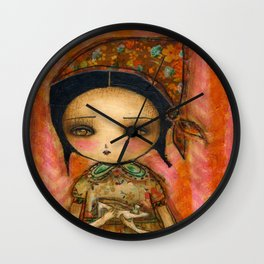 Cinderella's Way Out Of Misery Wall Clock