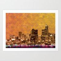 City Slickers Art Print