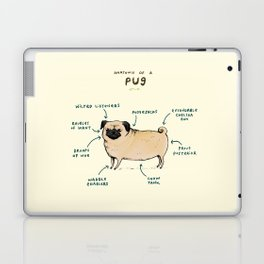 Anatomy of a Pug Laptop & iPad Skin