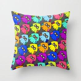 Squid Attack Throw Pillow