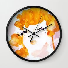 Stars Were In Her Eyes Wall Clock