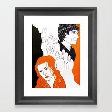 Meet me in Montauk Framed Art Print