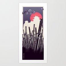 47 Ronin: 47 Swords Art Print