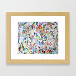 Environmental Colors Framed Art Print