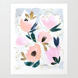 Dreamy Flora Art Print