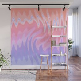 ZigZag Sunset Wall Mural