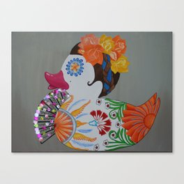 Pato Senorita - Lady Duck Canvas Print