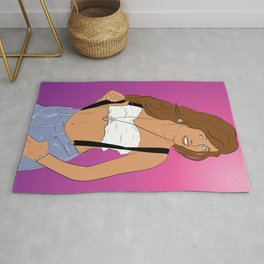 Saved by the Bell - Kelly Kapowski Rug