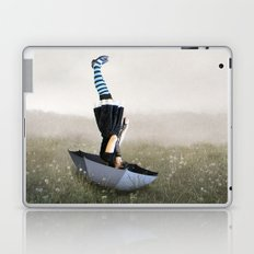 Umbrella melancholy Laptop & iPad Skin