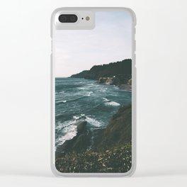 Oregon Coast IX Clear iPhone Case
