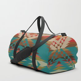 American Native Pattern No. 24 Duffle Bag
