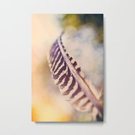Let the wind carry you Metal Print