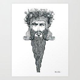 Conquerer {dirty}. Art Print