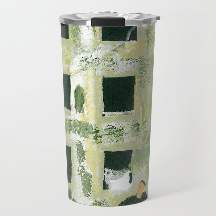 Edifice à la fenêtre Travel Mug