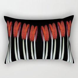 Part of a flower Macro Rectangular Pillow