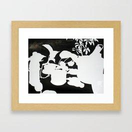 Indoor Garden Framed Art Print