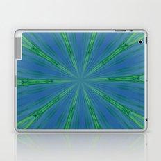 Green Warp design Laptop & iPad Skin