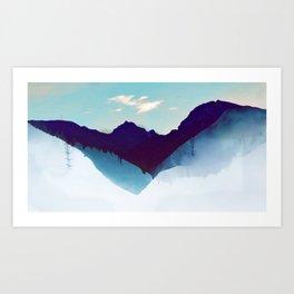 floatin world Art Print