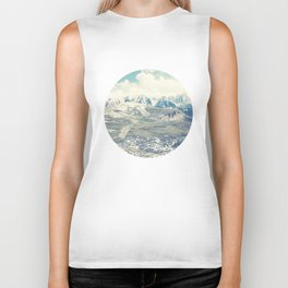 Mountainscape Biker Tank