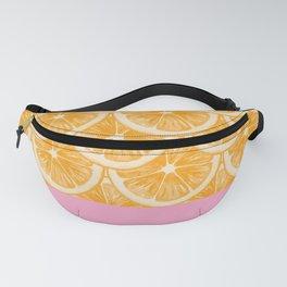 Zesty splice - orange Fanny Pack