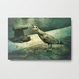 The Cry of The Gull Metal Print