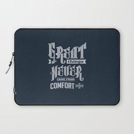 Comfort Zones - Motivation Laptop Sleeve