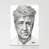 lynch Stationery Cards featuring David Lynch by Paul Nelson-Esch Art