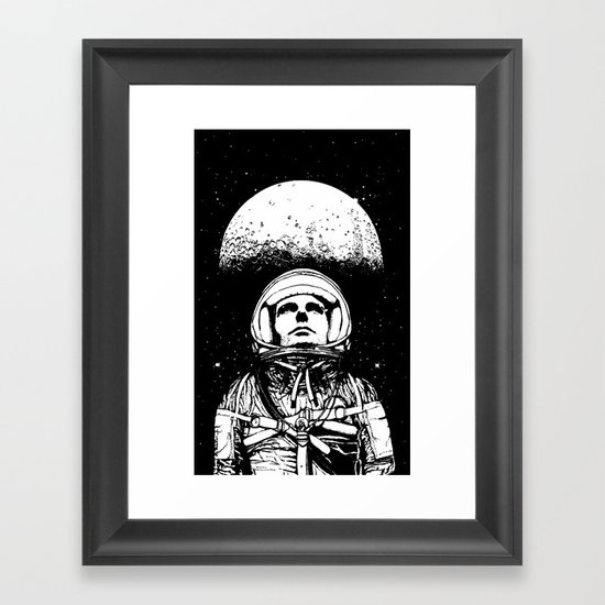 Looking for Space Framed Art Print
