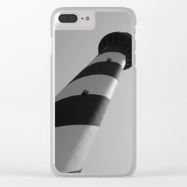 Ocracoke Lighthouse at an Angle Clear iPhone Case