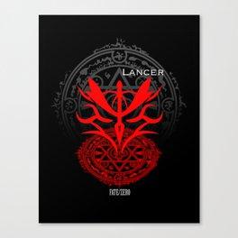 Fate/Zero Lancer Canvas Print