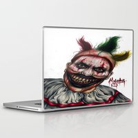 ahs Laptop & iPad Skins featuring Twisty-AHS No.2 by MELCHOMM