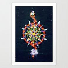 Muladhara Chakra Art Print
