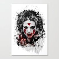 princess mononoke Canvas Prints featuring princess mononoke by ururuty