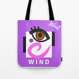 """"""" Carry On, W I N D """" Tote Bag"""