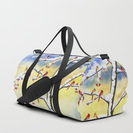 Winter Song 2 Duffle Bag