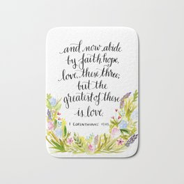Abide By Faith Bath Mat