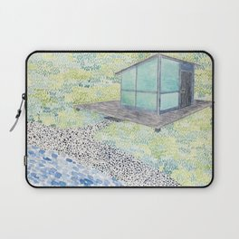 By the Shores of Silver Lake Laptop Sleeve