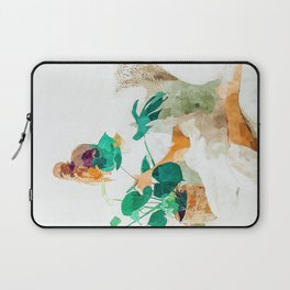 Me + Monstera #painting #minimal Laptop Sleeve