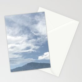 Green Mountain Flatirons in Boulder, Colorado Stationery Cards