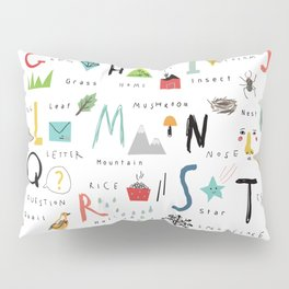 ABC Pillow Sham