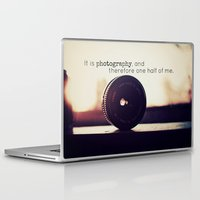 tool Laptop & iPad Skins featuring Photographer's Tool  by Jo Bekah Photography