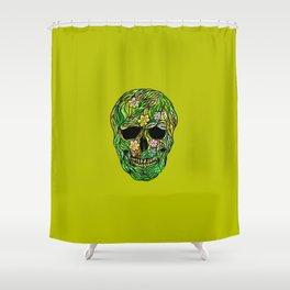 Skull Nature Shower Curtain