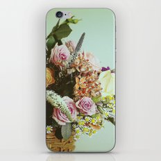 Flower basket iPhone & iPod Skin