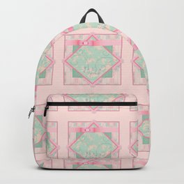 Button and Bows Backpack