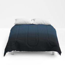 pyramid indigo Comforters