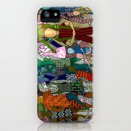 To the Beach by Lesley Nolan iPhone Case
